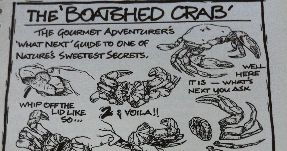 The Boat Shed's Guide to Crab Cracking (© Sara Chardin)