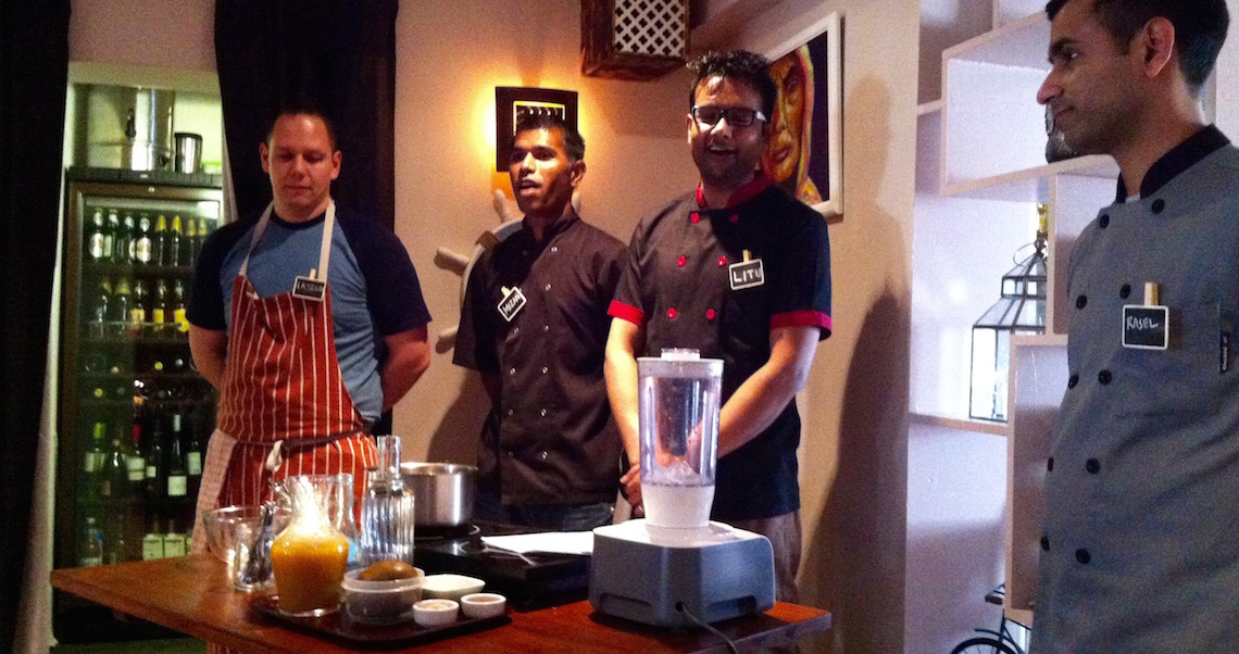 East India Cafe Indian Cookery Masterclass