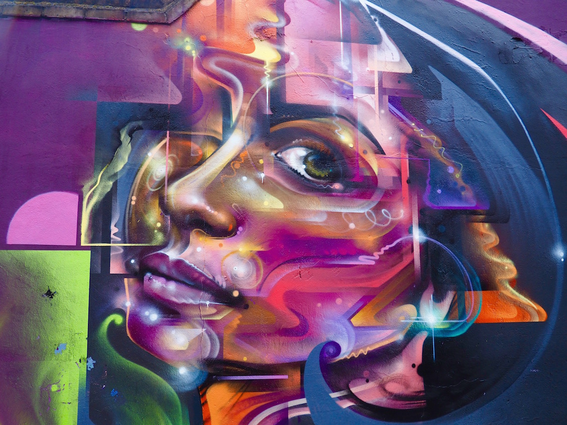 Mr Cenz on the Shoreditch Street Art Tour