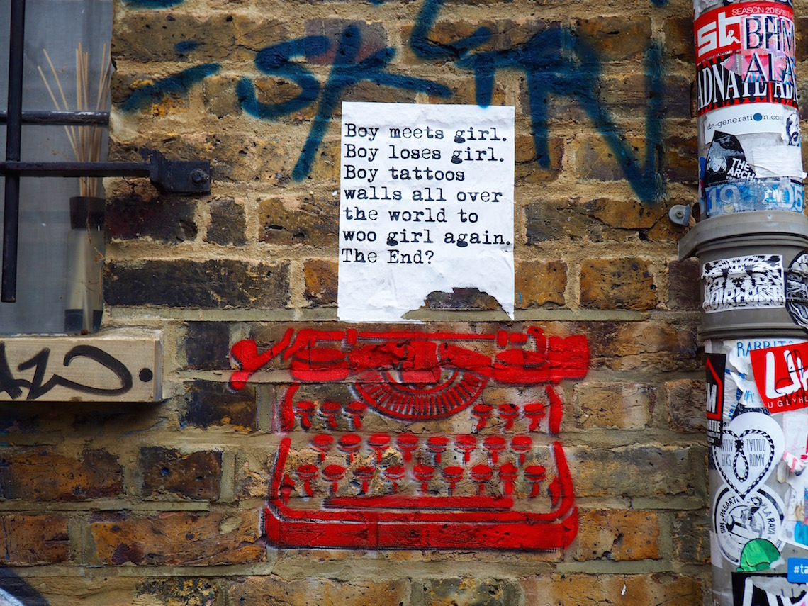 WRDSMTH on the Shoreditch Street Art Tour