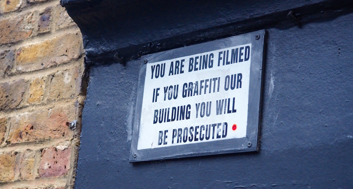 The illegal side of street art