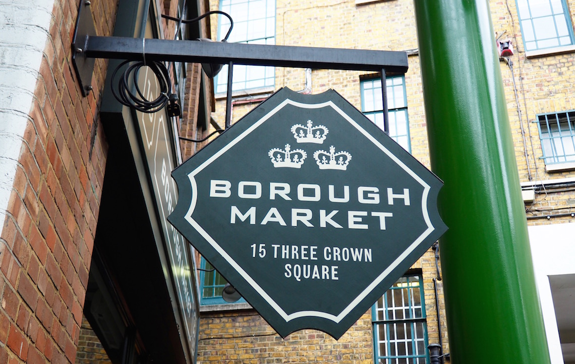 Borough Market on London's East Side