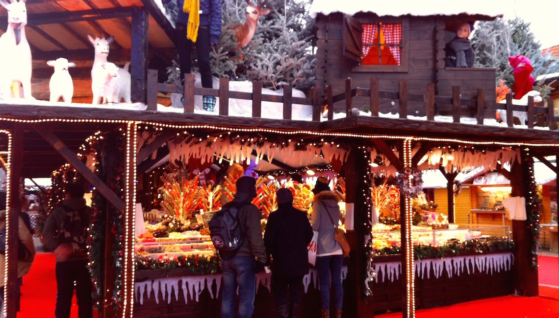 Christmas Market at Sainte Catherine