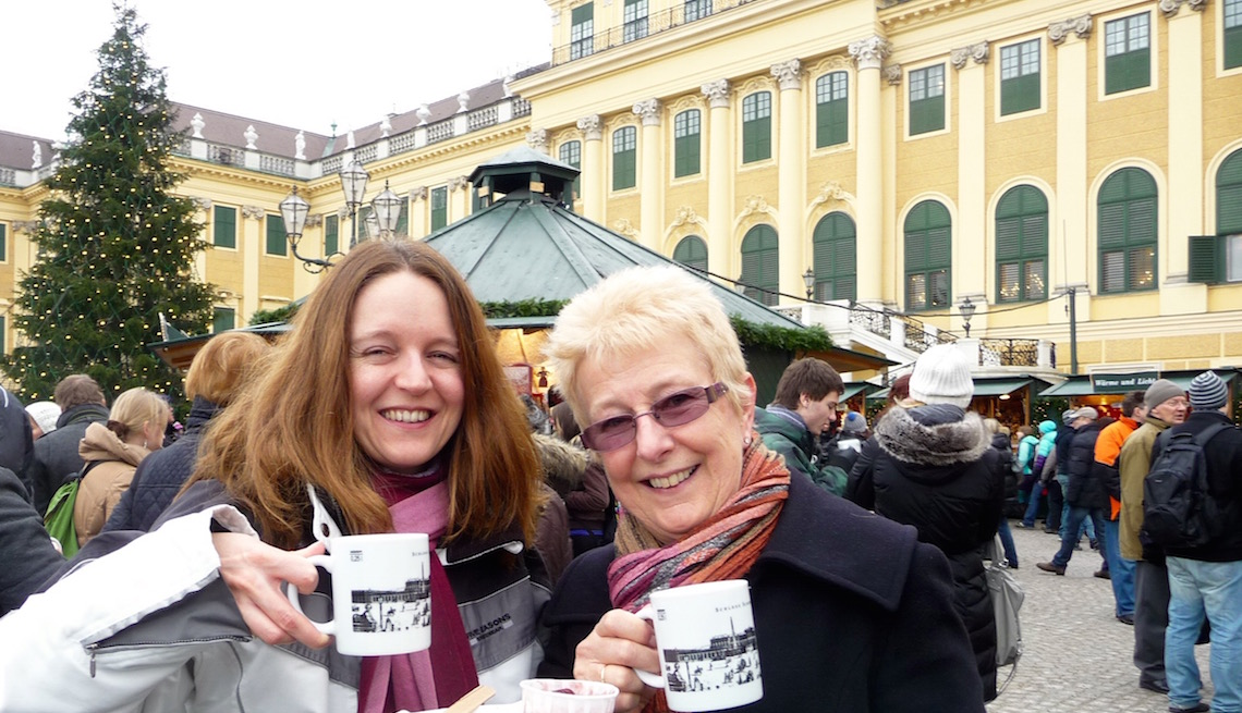 Christmas Market at Schonbrunn Palace