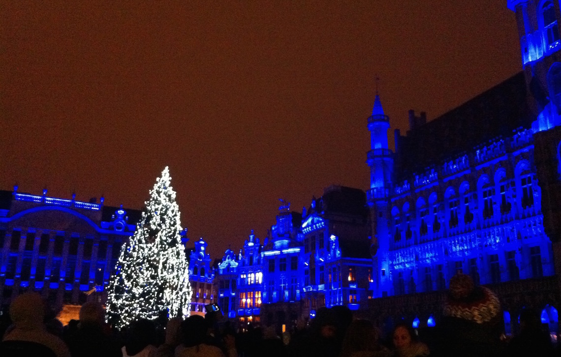 Sound and light show, Grand Place