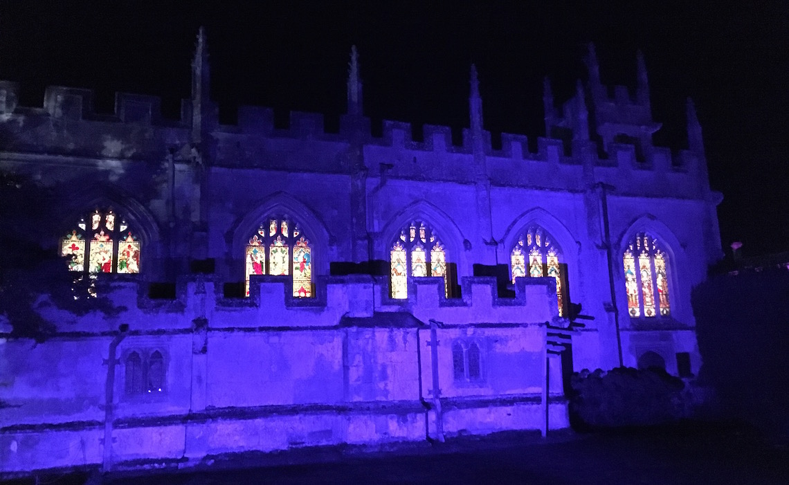 The Chapel, Sudeley Castle Spectacle of Light
