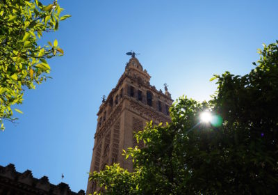 La Giralda on a Weekend in Seville