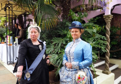Queen Victoria and the Duchess of Bedford