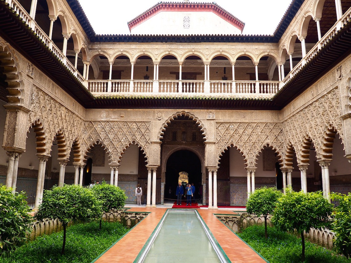The Real Alcazar on a Weekend in Seville