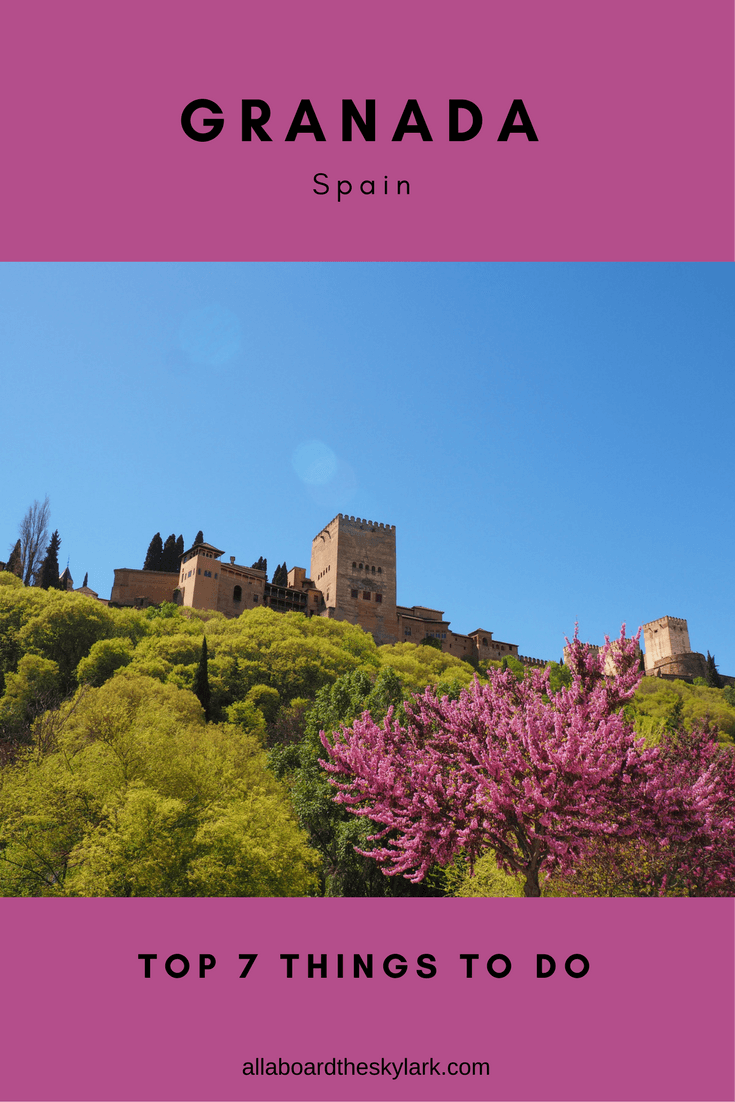 7 top things to do in Granada