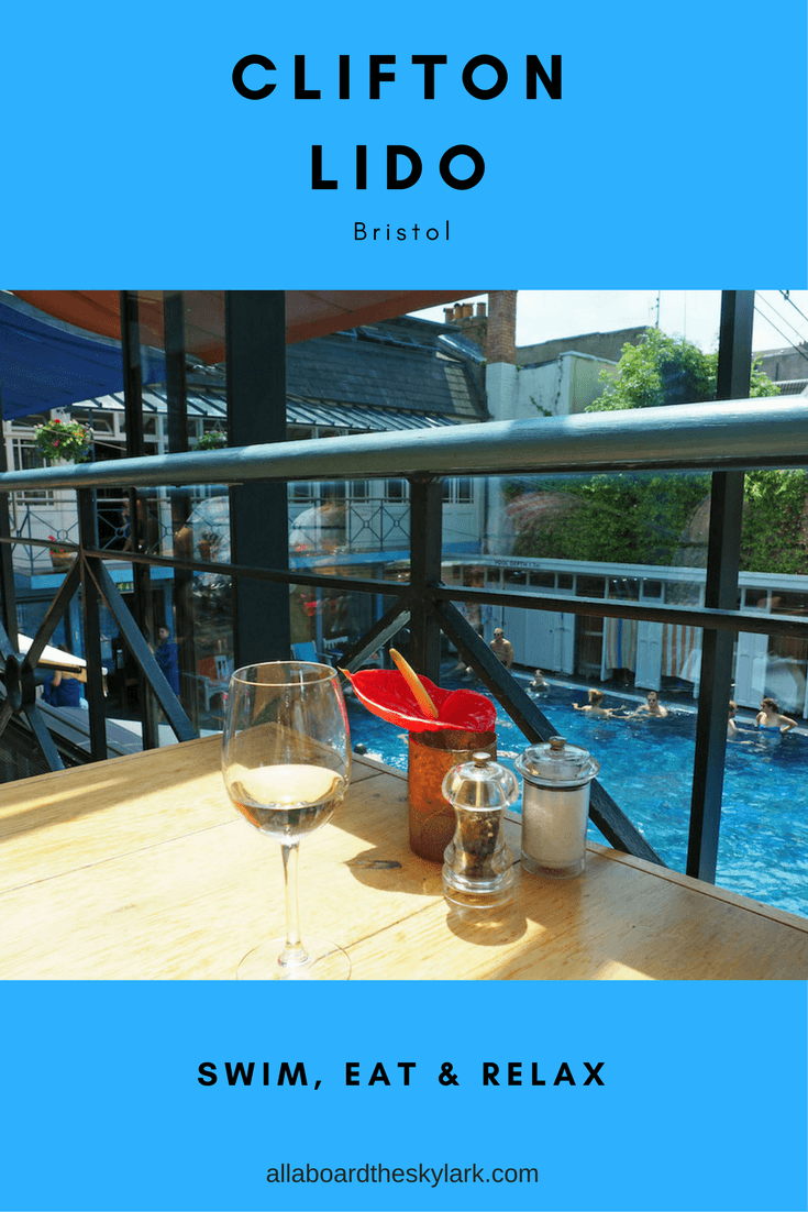 How to swim and eat at Clifton Lido in Bristol