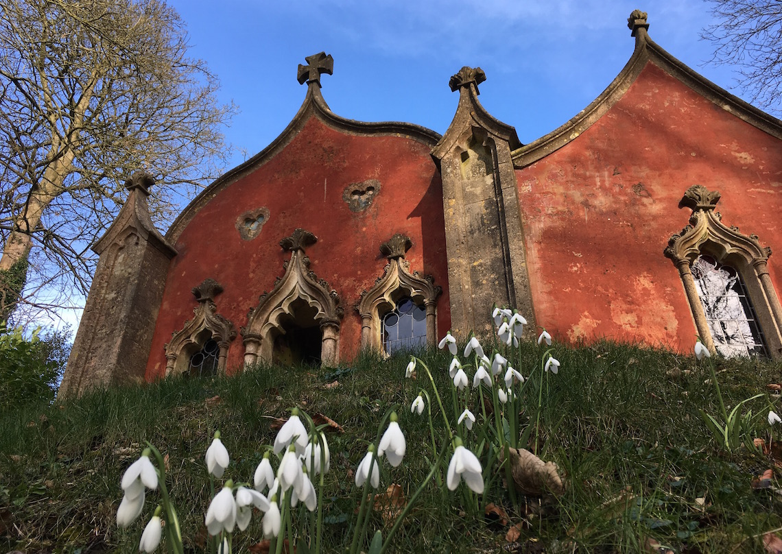 The Red House at Painswick Rococo Garden